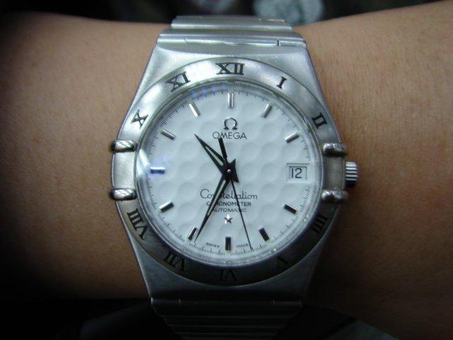 流當品拍賣 原裝 Omega 歐米茄 星座 高爾夫球面 自動 男錶 ZR179