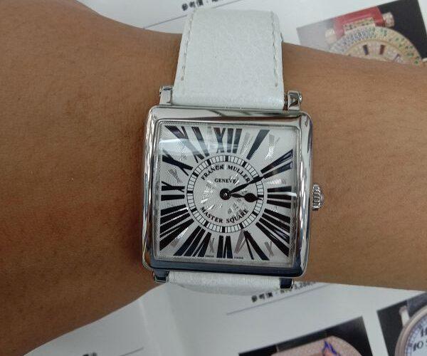 台中流當手錶拍賣 原裝 FRANCK MULLER 法蘭克穆勒 6002 石英 女錶 9成9新 喜歡價可議 ZR520